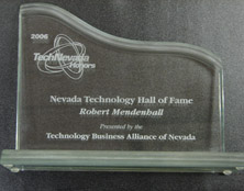 CEO Robert L Mendenhall - Technology Hall of Fame