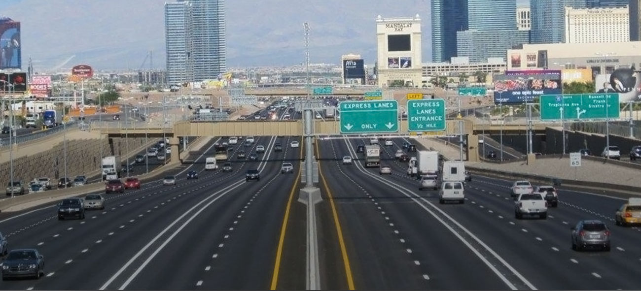 las vegas 15 freeway construction